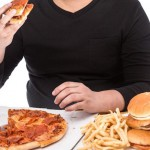 高カロリーな食事