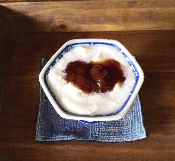 自家製豆乳ヨーグルト_完成写真